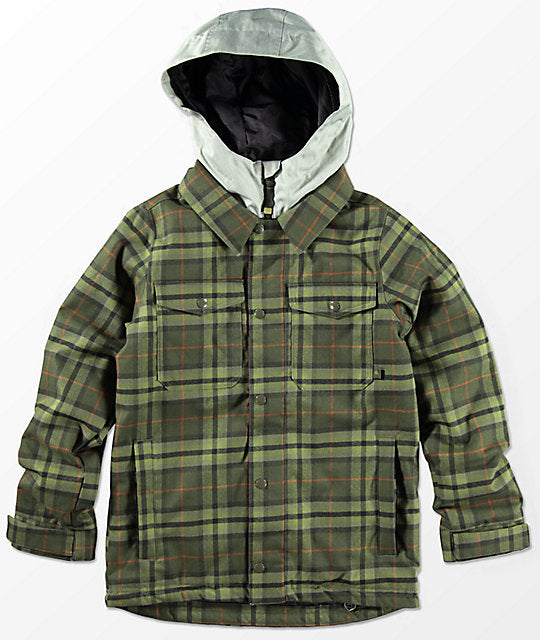 Burton Youth Uproar Forest Night Jacket