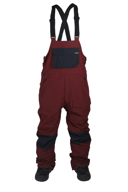 Ride Central Burgundy Bib Pant 2018