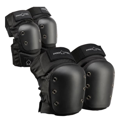 Pro-Tec Skate/Street Elbow/Knee Pads Combo Pack