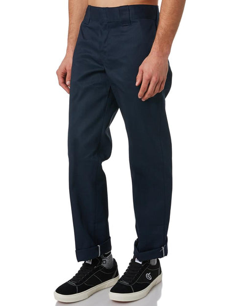 Dickies 873 Slim Straight Navy Work Pants
