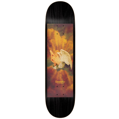 Real Donnelly Praying Fingers Skateboard Deck 8.25""