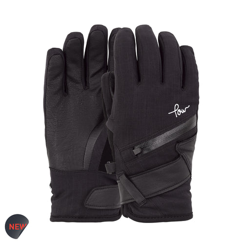 POW Astra Black Womens Glove 2019