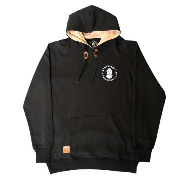 Whiteroom Tall Tech Hoody Black