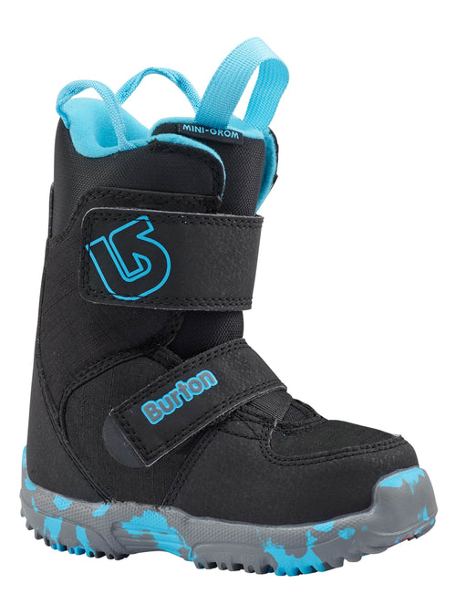Burton Mini Grom Black Snowboard Boot 2018