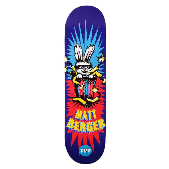 Flip Tin Toy Matt Berger Skateboard Deck 8.25""