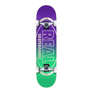 Real Golden Oval Outliner Complete Skateboard 8.0""