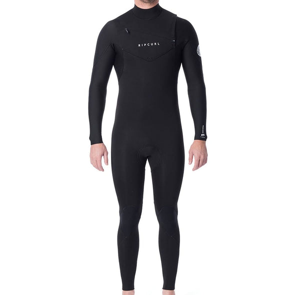 Ripcurl Dawn Patrol 3/2 Chest Zip Men's Wetsuit Black