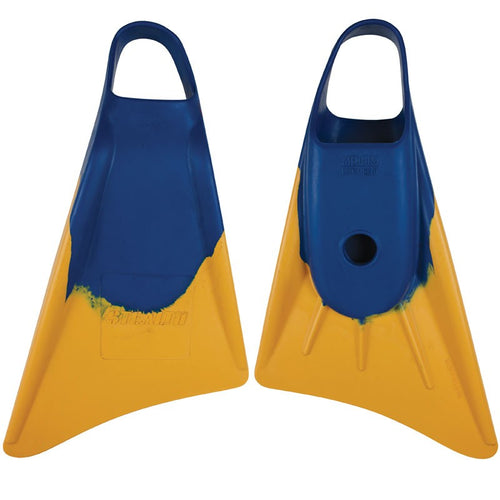 Stealth S1 Classic Fins Blue/Sun Gold