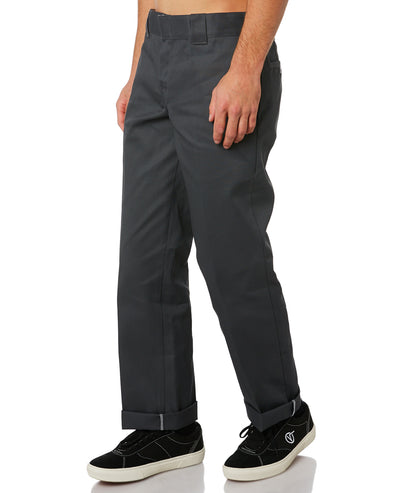 Dickies 873 Slim Straight Charcoal Work Pants