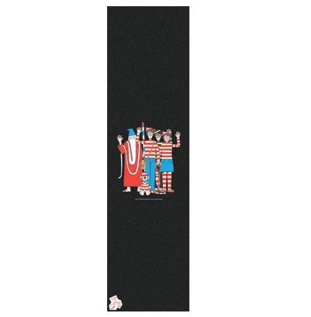 Fruity Where's Wally Group Shot Griptape
