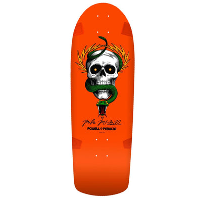 Powell Peralta McGill Skull and Snake Fluro Orange 10'' Re-Issue Deck