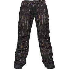 Burton Womans Lucky Pant Grunge Art
