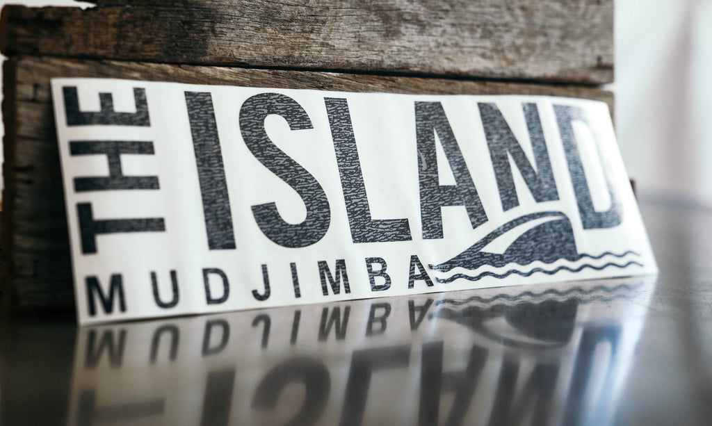 Mudjimba Decal Sticker