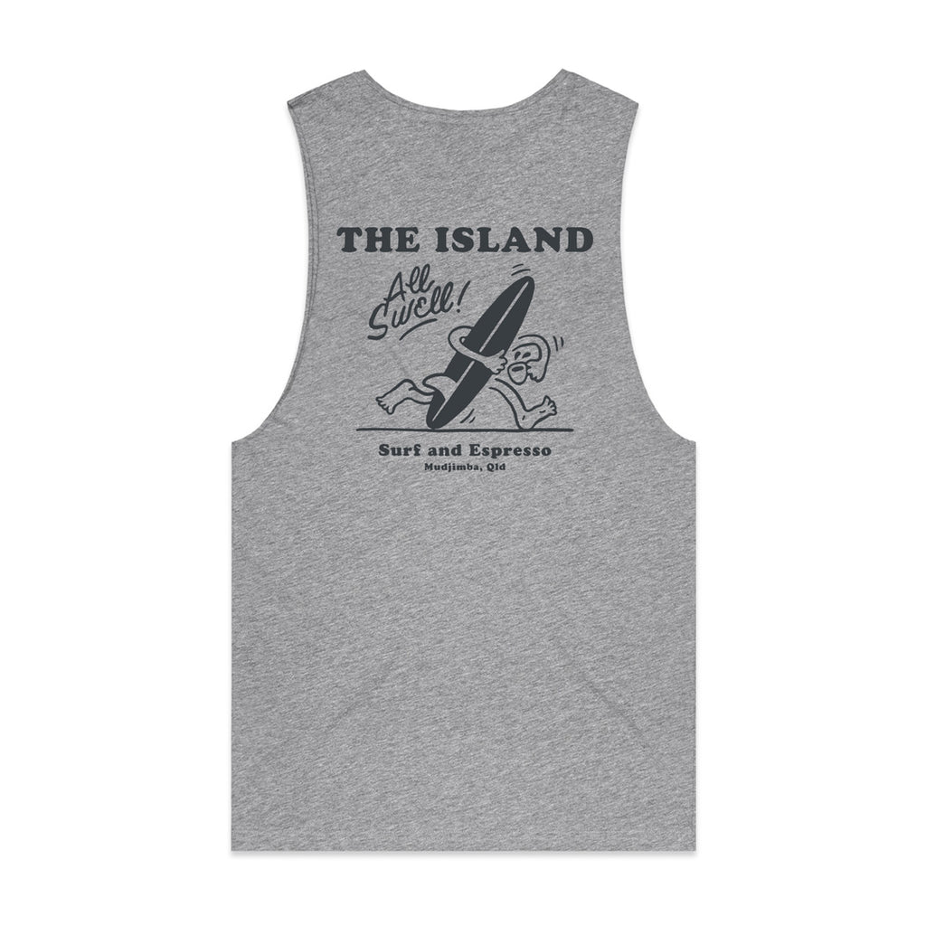 The Island Surf Muscle Tee All Swell