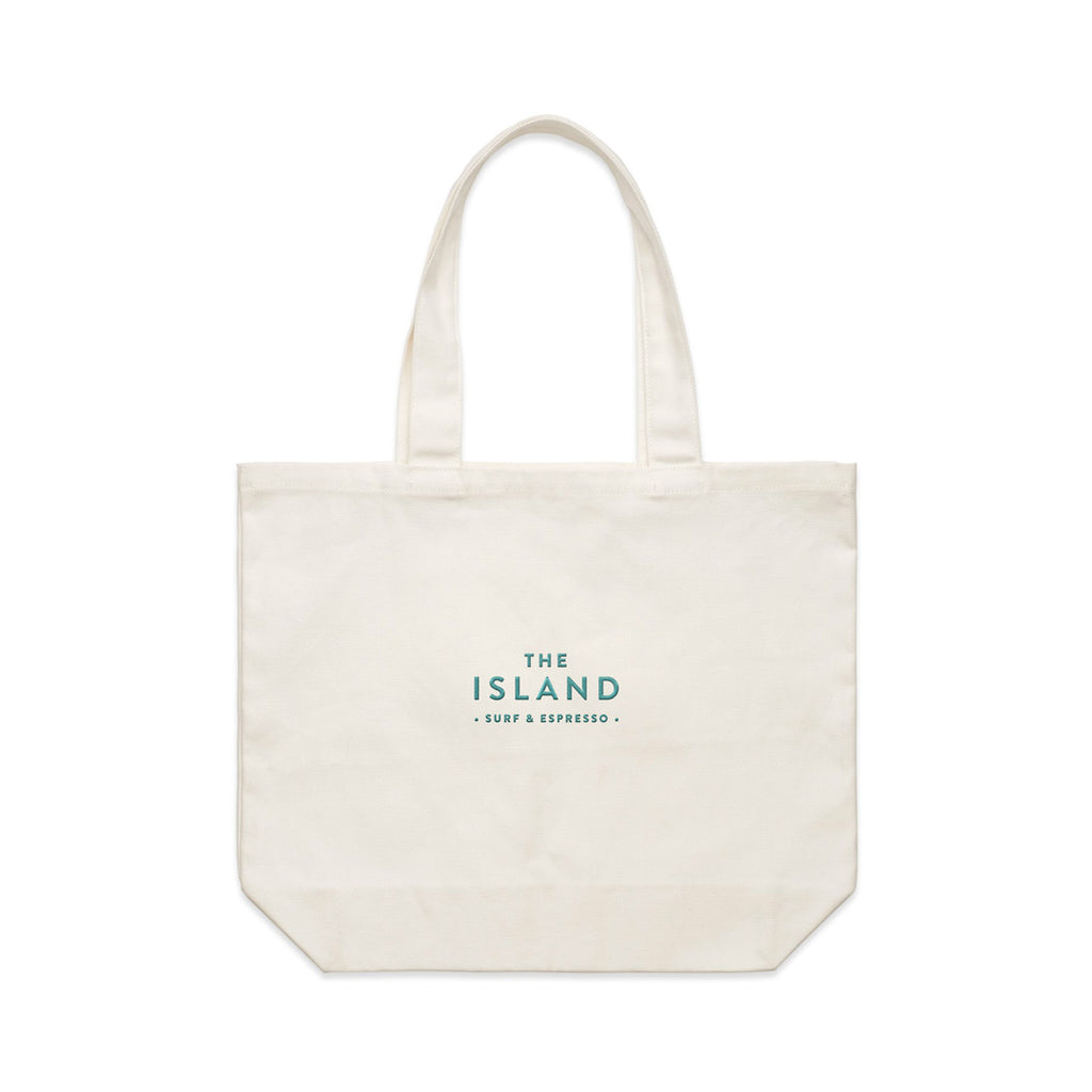 "Island ""Was Better On Low Tide"" Tote"
