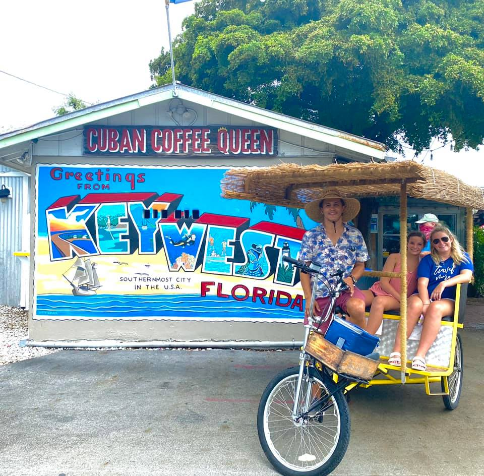 Key West History And Culture Tiki Bike Experience - Key West Walking Tour