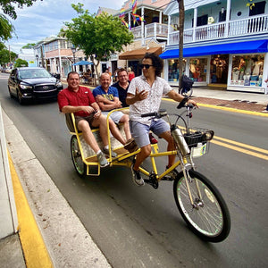 Private Key West Conch Republic Tiki Bike Experience - Key West Walking Tour