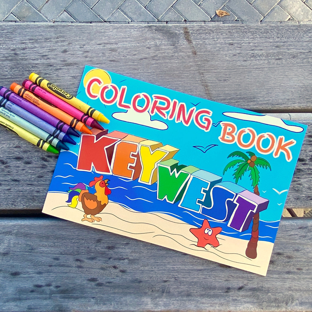 Key West Coloring Book - Florida Keys Ventures