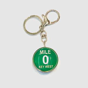 Two-Sided Key West Key Chain - Key West Walking Tour