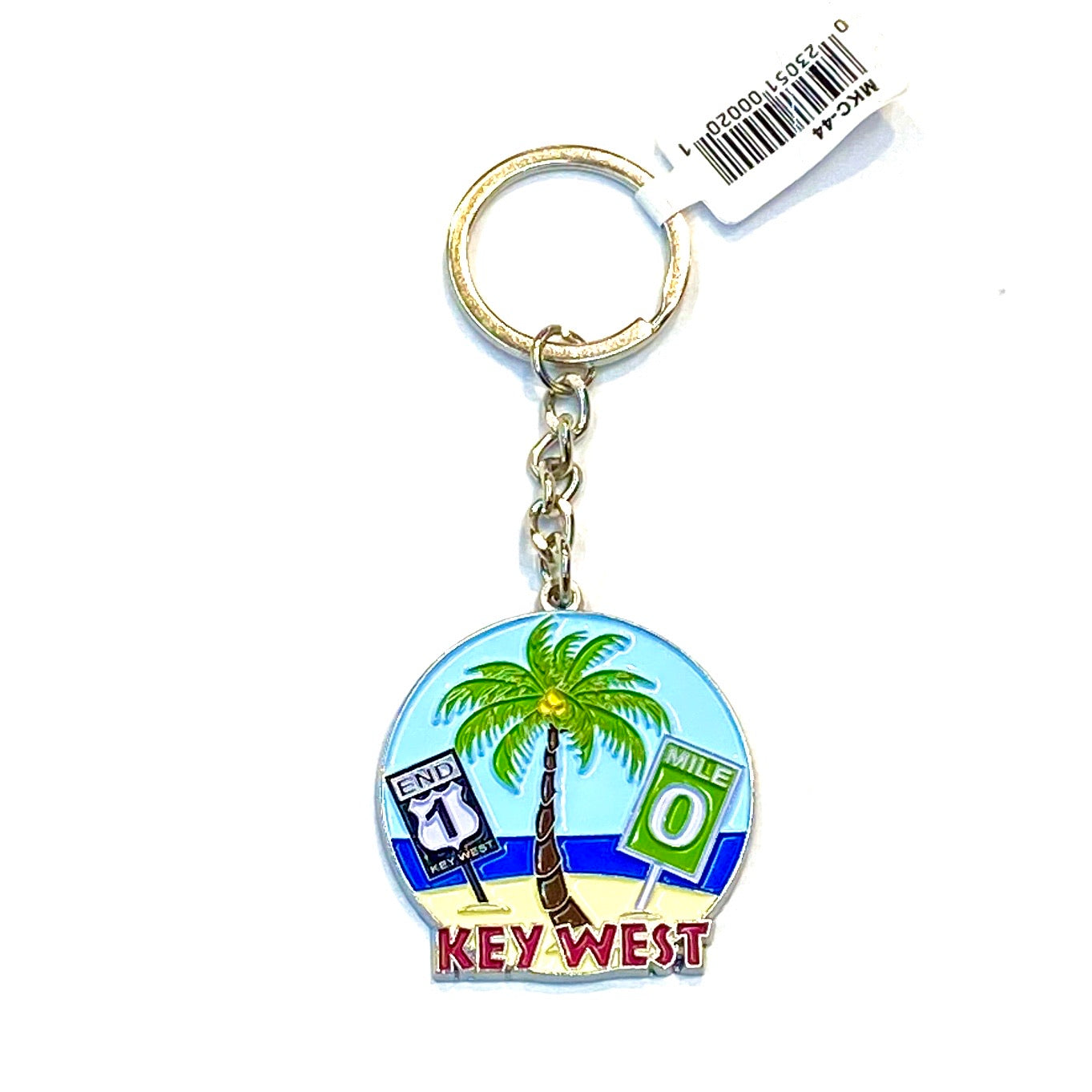 Key West Metal Key Chain - Key West Walking Tour