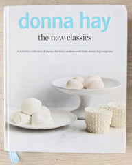 Donna Hay 'the new classics' Cookbook Travel Bake Create Cookbook Challenge