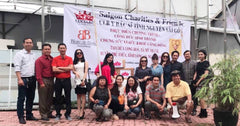 Tuyetlan Orchid Silk Image Saigon Charities and Friends