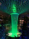 The Jewel Rain Vortex, Changi Airport Terminal 1 Singapore