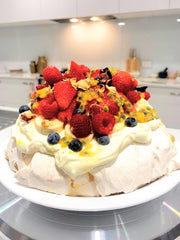 Travel Bake Create Cookbook Challenge Pavlova