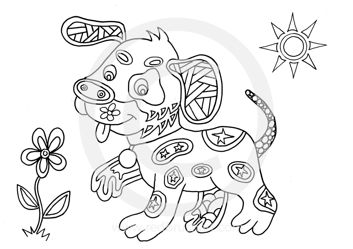 Yoga Kids Colouring Book Animals