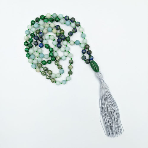 Mala - Green Gemstones