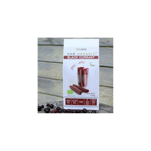 Prosvego Raw Organic Black Currant Roll-Ups Fruit Leather