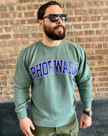 """PHORWARD MOTION"" crewneck"