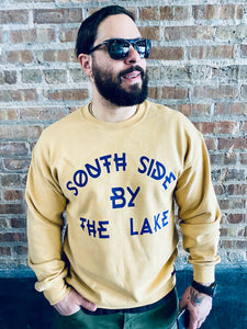 """SOUTH SIDE BY THE LAKE"" Crewneck Sweat shirt"