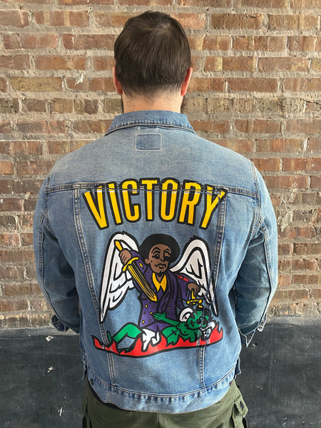 """VICTORY 365"" Denim Jacket"