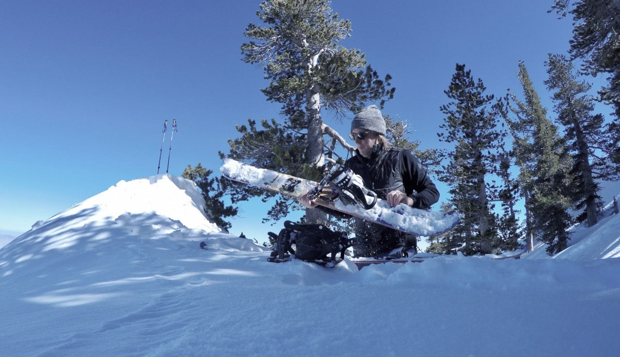 Billy Splitboarding