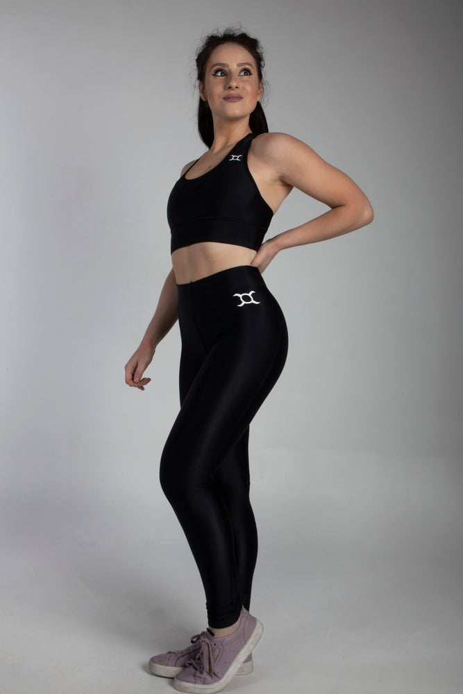 Classic Black Performance Leggings