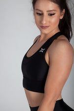 Classic Black Performance Sports Bra