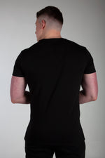 All Purpose Organic Black Tee - Origin X Performance | Sustainable Activewear