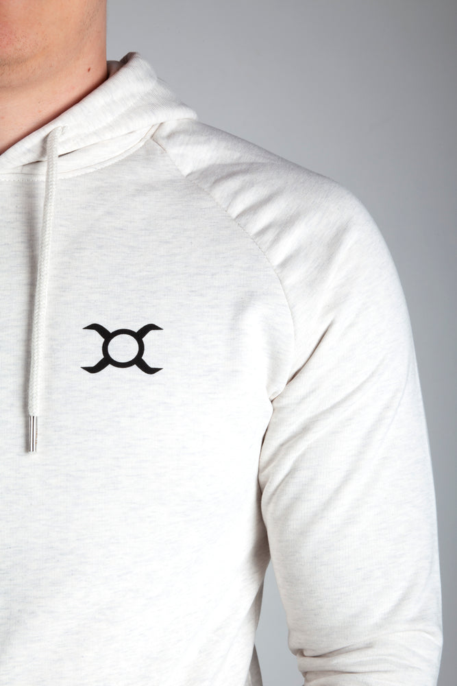 All Purpose Organic White Hoodie - Origin X Performance | Sustainable Activewear