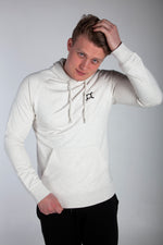 All Purpose Organic White Hoodie