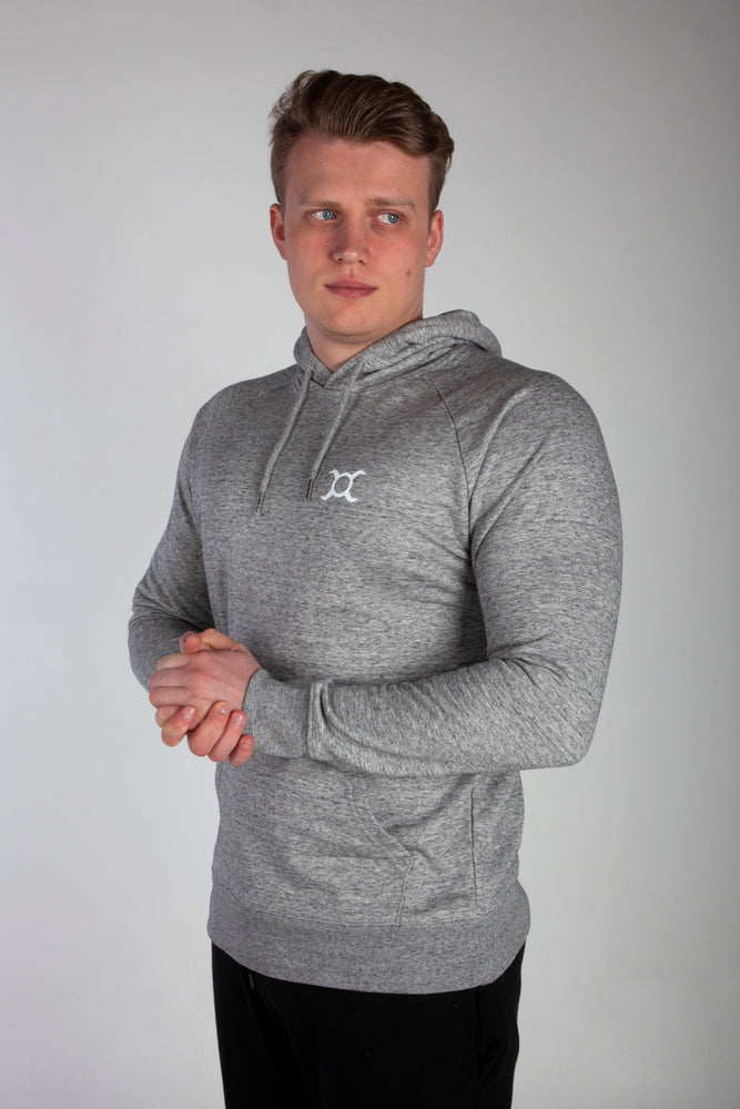 All Purpose Organic Heather Grey Hoodie