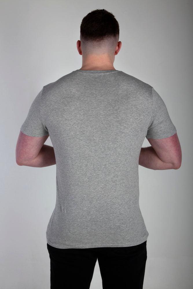 All Purpose Organic Heather Grey Tee