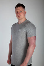 All Purpose Organic Heather Grey Tee - Origin X Performance | Sustainable Activewear