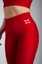 All Purpose Red Leggings - Origin X Performance | Sustainable Activewear