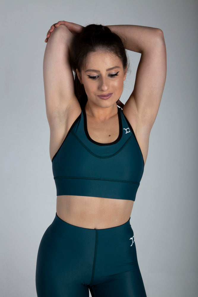 All Purpose Teal Leggings - Origin X Performance | Sustainable Activewear