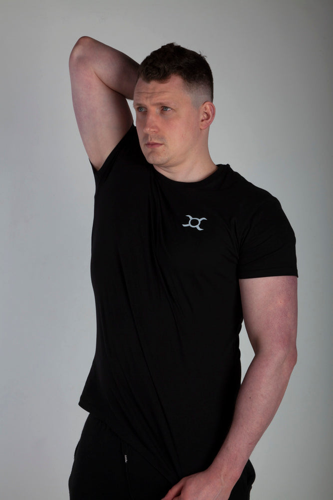 Origin X Performance | Sustainable Clothing UK | Origin X Performance | Black All Purpose T-Shirt photo 2