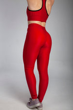 Origin X Performance | Sustainable Clothing UK | Origin X Performance | Red All Purpose Leggings Photo 4