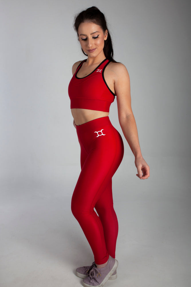 All Purpose Red Leggings