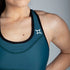 All Purpose Teal Sports Bra - Origin X Performance | Sustainable Activewear