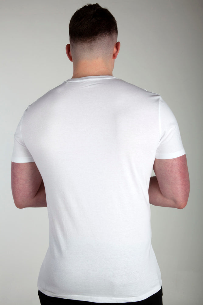 All Purpose Organic White Tee - Origin X Performance | Sustainable Activewear